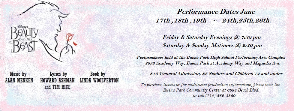 Performance and Ticket Info!
